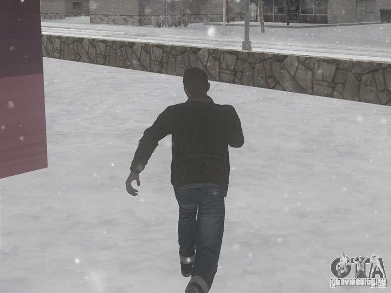 Скачать звуки шага по снегу