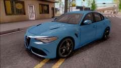 Alfa Romeo Giulia Quadrifoglio 2017 для GTA San Andreas