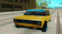 ВАЗ 2106 жёлтый для GTA San Andreas