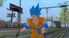 Goku SSJ2 Blue Skin для GTA San Andreas