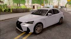 Lexus IS XE30 200t F Sport 2017 для GTA San Andreas