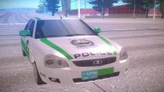 Lada Priora белый для GTA San Andreas