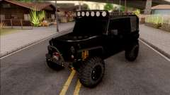 Jeep Wrangler Rubicon Off-Road для GTA San Andreas