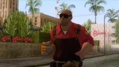 Team Fortress 2 - Engineer Skin v2 для GTA San Andreas
