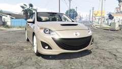 Mazdaspeed3 (BL) 2010 [replace] для GTA 5
