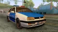 Volkswagen Golf Mk3 Estonian Police