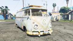 Volkswagen Typ 2 (T1) 1960 rat [replace] для GTA 5