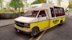 GTA V Brute Rental Shuttle Bus для GTA San Andreas