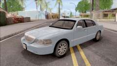 Lincoln Town Car L Signature 2010 IVF No Dirt для GTA San Andreas
