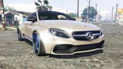 Mercedes-Benz C 63 S AMG widebody [add-on] для GTA 5