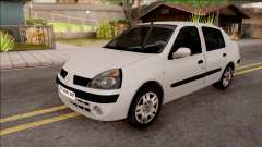 Renault Clio белый для GTA San Andreas