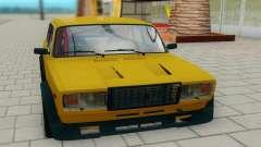 ВАЗ 2107 жёлтый для GTA San Andreas