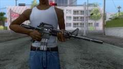 M4A1 Assault Rifle для GTA San Andreas
