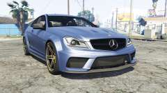 Mercedes-Benz C63 AMG (C204) 2012 v1.1 [replace] для GTA 5