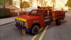 Ford F-400 Wason CSAGAZ (Gas Truck) для GTA San Andreas