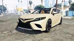 Toyota Camry XSE 2018 [add-on] для GTA 5