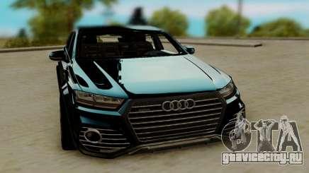 Audi QS7 ABT для GTA San Andreas
