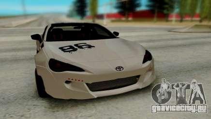 Toyota GT86 TRD для GTA San Andreas