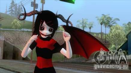 Demon Rin Skin v2 для GTA San Andreas