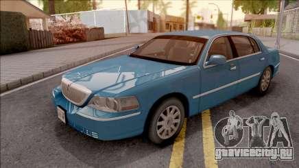 Lincoln Town Car L Signature 2010 HQLM для GTA San Andreas