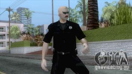 New Sfpd1 Skin для GTA San Andreas