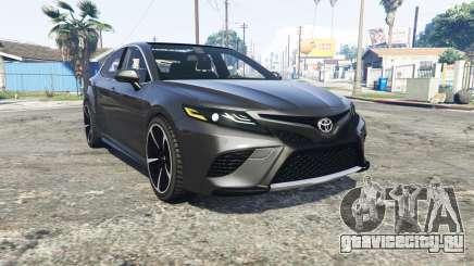 Toyota Camry XSE 2018 [replace] для GTA 5