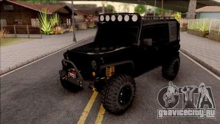 Jeep Wrangler Rubicon Off-Road для GTA San Andreas