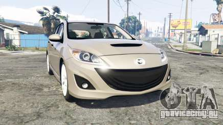 Mazdaspeed3 (BL) 2010 [replace] для GTA 5