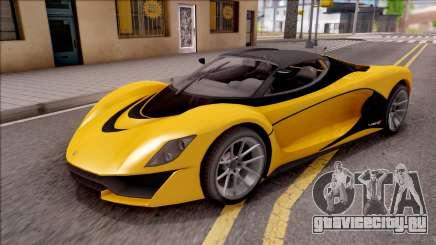 Grotti Turismo R from GTA V для GTA San Andreas