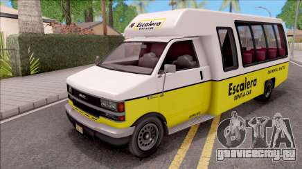 GTA V Brute Rental Shuttle Bus IVF для GTA San Andreas