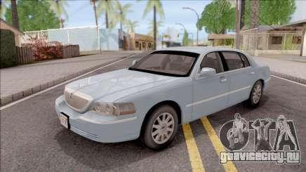 Lincoln Town Car L Signature 2010 IVF No Dirt для GTA San Andreas