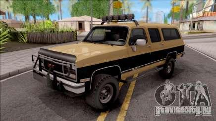 GMC Suburban 1989 IVF для GTA San Andreas