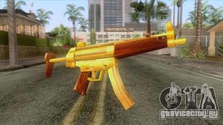 Gold MP5 для GTA San Andreas