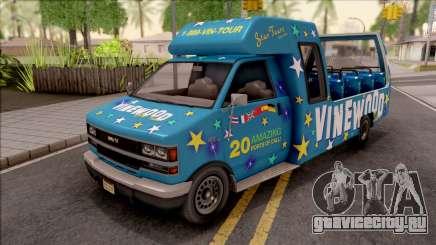GTA V Brute Tour Bus для GTA San Andreas