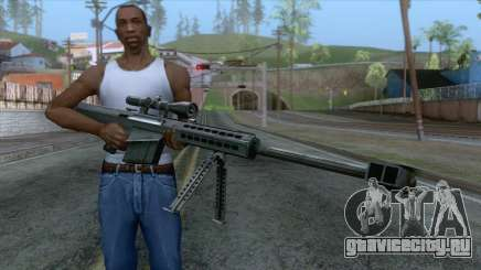 Barrett M82A1 Anti-Material Sniper Rifle v1 для GTA San Andreas