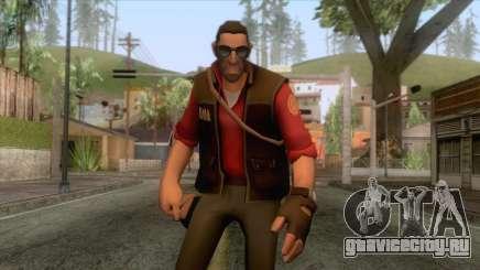 Team Fortress 2 - Sniper Skin v2 для GTA San Andreas