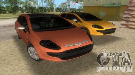 2010 Фиат Пунто Эво Спорт для GTA Vice City