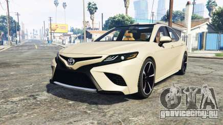 Toyota Camry XSE 2018 [add-on] для GTA 5