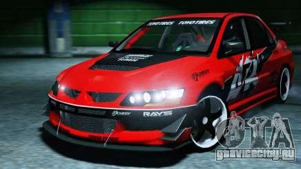 2006 Mitsubishi Lancer Evolution IX 2.0 для GTA 5