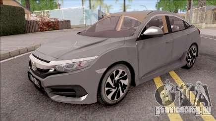Honda Civic FC5 Low Poly with Xenon для GTA San Andreas