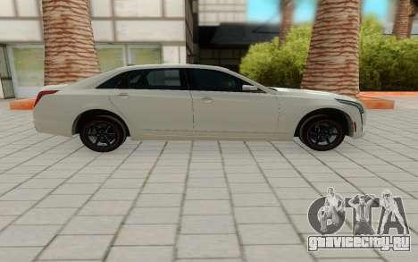 Cadillac CT6 для GTA San Andreas вид слева