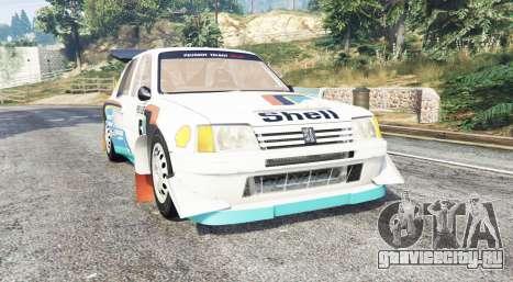 Peugeot 205 T16 [replace] для GTA 5