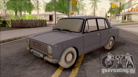 Fiat Murat 124 для GTA San Andreas