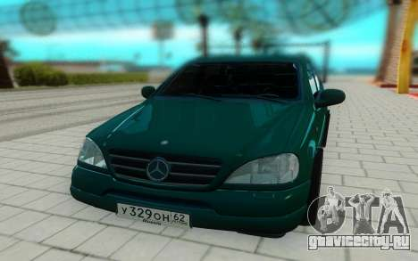 Mersedes-Benz ML 230 для GTA San Andreas вид справа