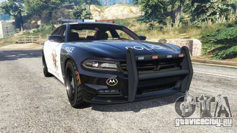 Dodge Charger RT 2015 LSPD [replace] для GTA 5