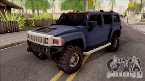 Hummer H3 2010 для GTA San Andreas
