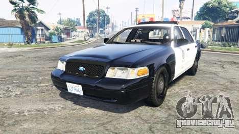 Ford Crown Victoria Los Santos Police [replace] для GTA 5