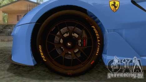 Ferrari GTO 599XX для GTA San Andreas