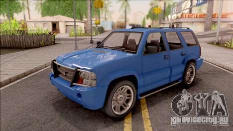 Declasse Granger Classic IVF для GTA San Andreas