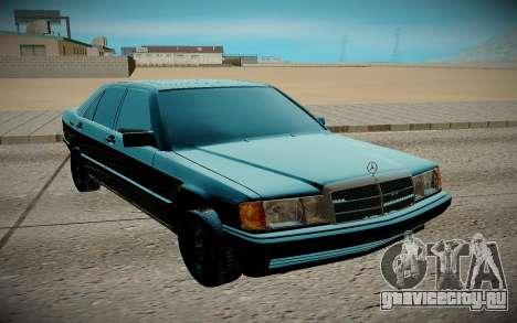 Mercedes-Benz W201 E190 для GTA San Andreas